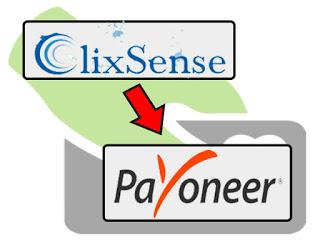 ClixSense绑定Payoneer收款